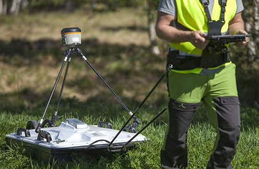 Полевые работы с георадаром CrossOver CO730